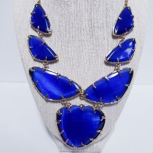 Kendra Scott Marisol Cobalt Blue Necklace